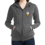 cute little girl snow cone.png Zip Hoodie