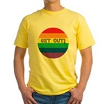 GET OUT! Yellow T-Shirt