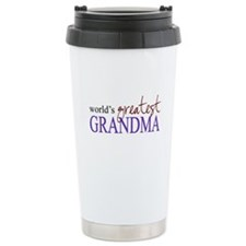 Unique Grandma Travel Mug