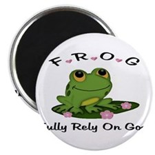 FROG Fully Rely On God Magnets