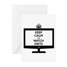 Keep Calm and Watch DWTS Greeting Cards (20 pack)
