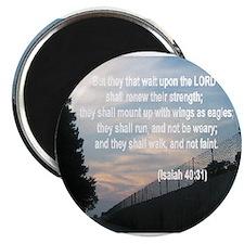 Isaiah 40:31 Magnets