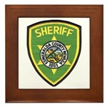 Esmeralda County Sheriff Framed Tile