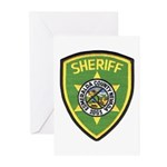 Esmeralda County Sheriff Greeting Cards (Package o