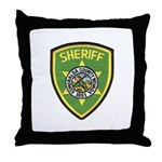 Esmeralda County Sheriff Throw Pillow