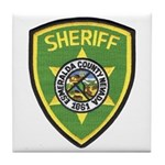 Esmeralda County Sheriff Tile Coaster