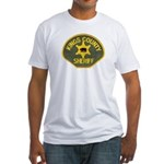 Kings County Sheriff Fitted T-Shirt