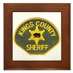 Kings County Sheriff Framed Tile