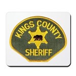 Kings County Sheriff Mousepad