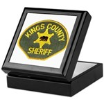 Kings County Sheriff Keepsake Box