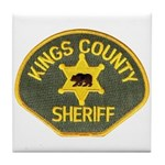 Kings County Sheriff Tile Coaster