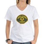 Kings County Sheriff Women's V-Neck T-Shirt
