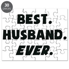 I Love My Worlds Best Husband Ever Puzzle