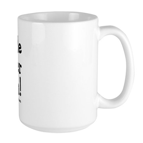 I made Cancer My Bitch Large Mug
