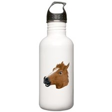 Horse Head Creepy Mask Water Bottle