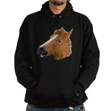 Horse Head Creepy Mask Hoodie