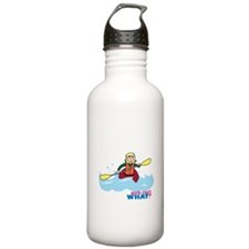 Girl Kayaking Light/Blonde Water Bottle