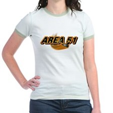 Area 51 Logo Orange T
