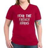Fear The French Horns Shirt