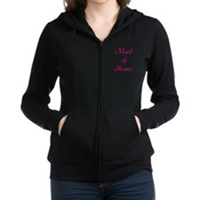 maid-of-honor-pink.png Zip Hoodie