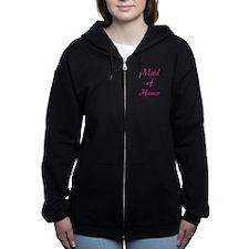 maid-of-honor-pink.png Zip Hoodie