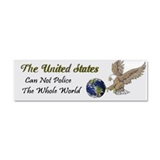 The United States Car Magnet 10 X 3