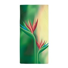 Paradise Flower Beach Towel