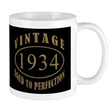 1934 Vintage Birth Year Coffee Mug