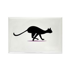 Cat Nip Rectangle Magnet (10 pack)