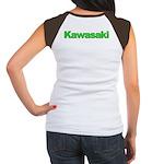 Kawasaki Green Women's Cap Sleeve T-Shirt