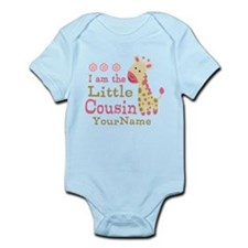 I am the Little Cousin Personalized Infant Bodysui