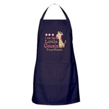 I am the Little Cousin Personalized Apron (dark)
