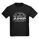 House of ADHD kids' dark T-shirt