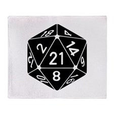21 Sided 21st Birthday D20 Fantasy Gamer Die Throw