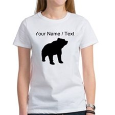 Custom Bear Silhouette T-Shirt
