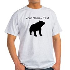 Custom Bear Silhouette T-Shirt