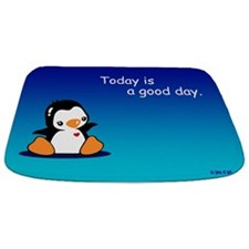 Cute Penguin Bathmat