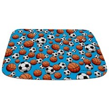 Soccer & Basketball Bathmat