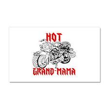 HOT GRAND-MAMA Car Magnet 20 x 12