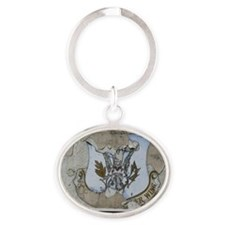 50th Tactical Fighter Wing Today Oval Keychain