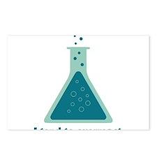 I Tend To Overreact Chemistry Science Beaker Postc