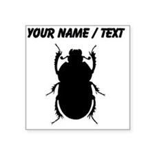 Custom Beetle Silhouette Sticker