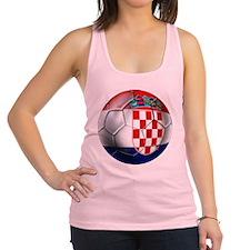 Croatia Football Racerback Tank Top