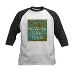 Havana Surf Team Wave Kids Baseball Jersey