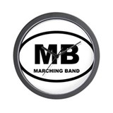 Marching Band Shirts and Gift Wall Clock