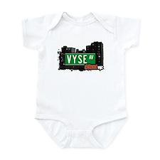 Vyse Av, Bronx, NYC  Infant Bodysuit