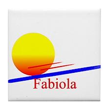 Fabiola Tile Coaster