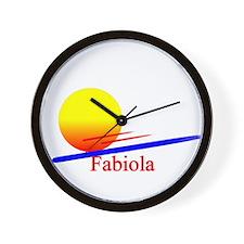 Fabiola Wall Clock