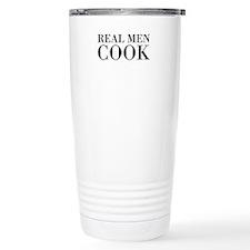 Real men cook Travel Mug