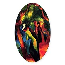August Macke - Sunny Way Decal